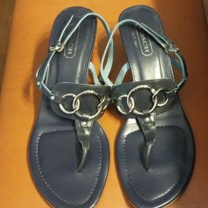 Coach size 8.5 Gladys Thong Sandals